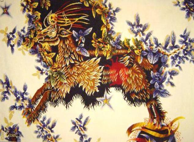 Тканый настенный ковёр шпалера в современных интерпретациях, фото № 1