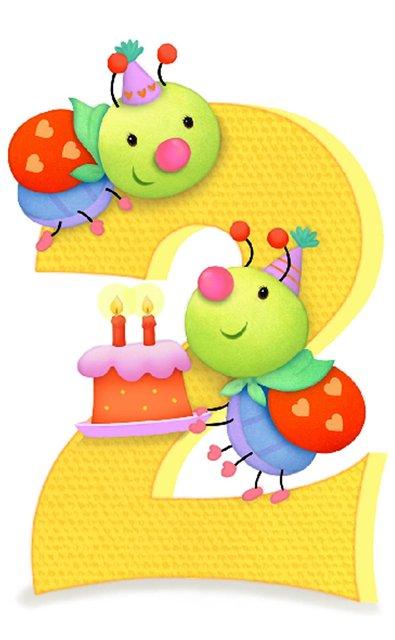 Открытка на день рождения мальчику 2 года