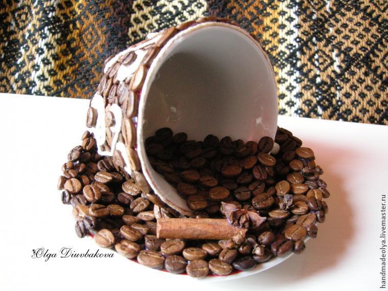 кружка из кофейных зерен своими руками фото нашла ничего, что