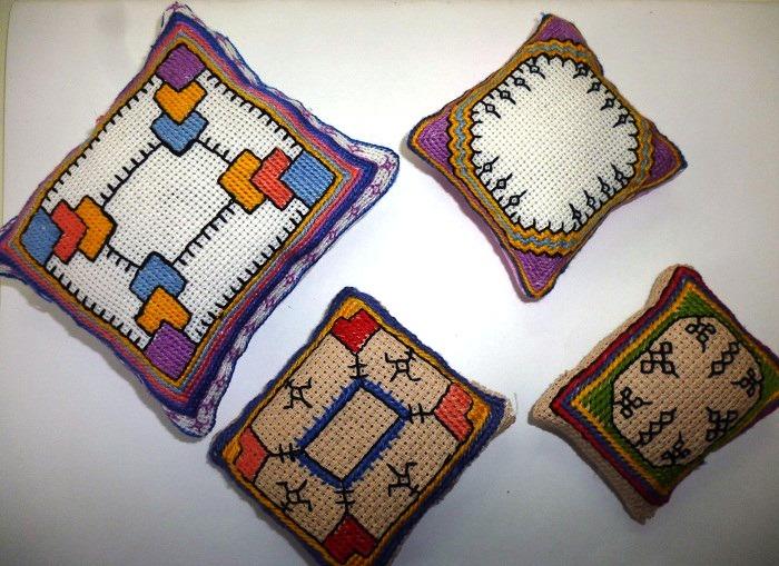 Техника чувашской вышивки