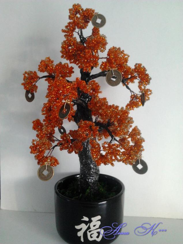Что же делать, чтобы сохранить красоту цветов и деревьев из бисера?, фото № 2