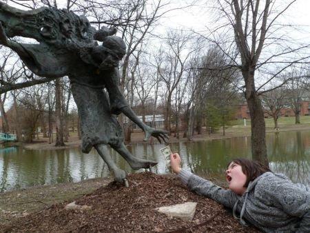 Как Правильно фотографироваться с памятниками, фото № 18