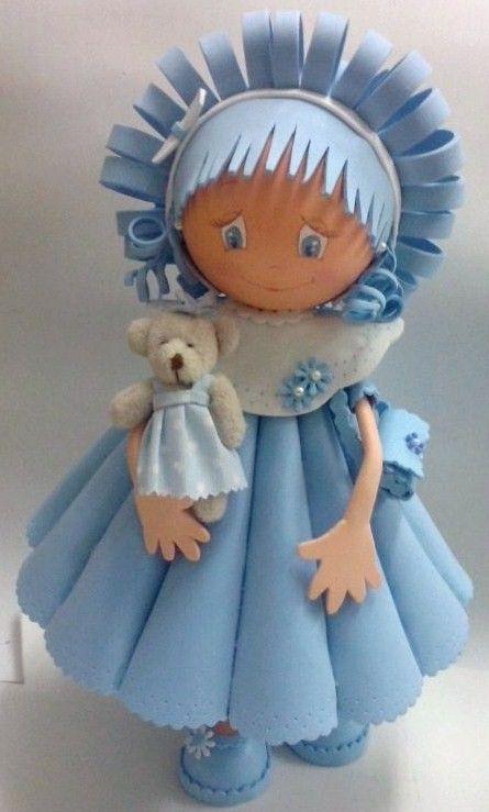Куклы из фоамирана мастер класс