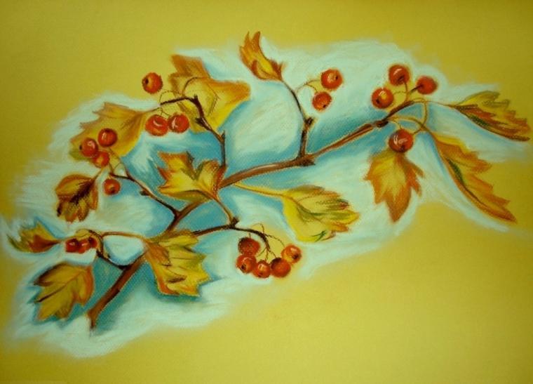 пастель, живопись пастелью, рисование пастелью