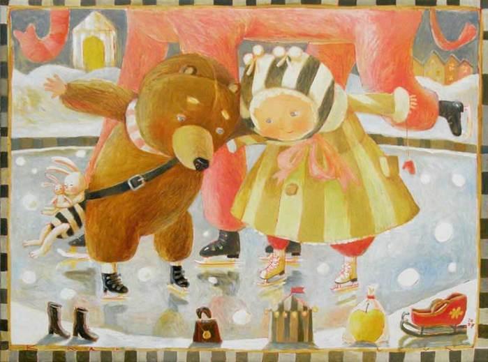 Путешествие в детство с белорусской художницей Анной Королёвой, фото № 6