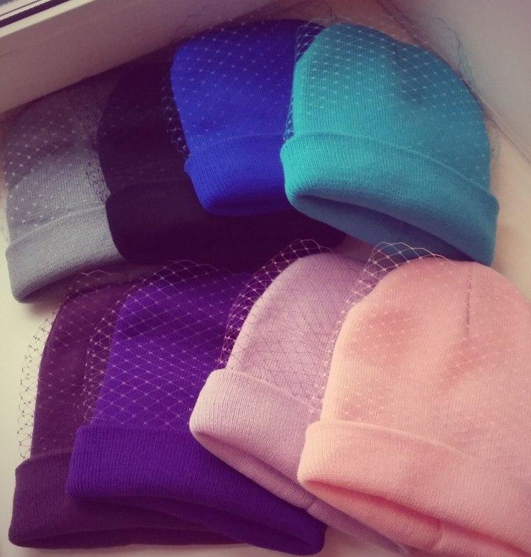 распродажа, шапка, распродажи, черный, белый, розовый, мятный