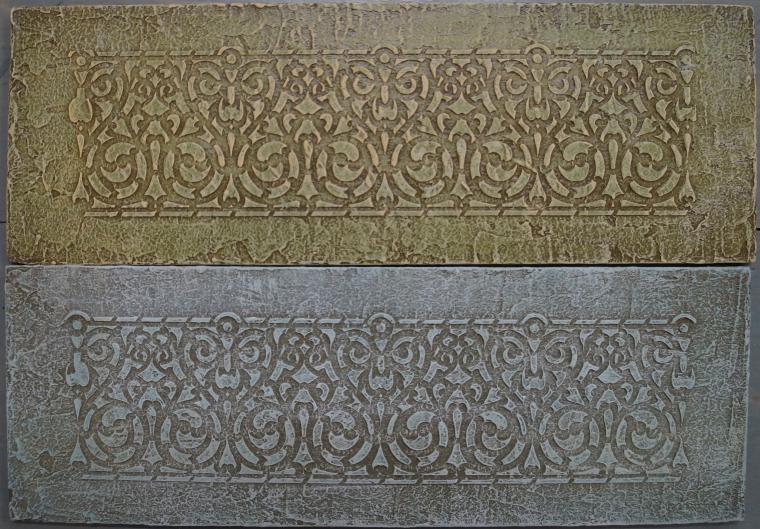 Тиснение орнамента на мебели. Мастерская Натальи Строгановой. Отчет. Часть 2, фото № 24