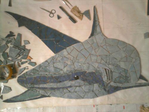 кафель, ремонт, ванная, акула, дизайн интерьера