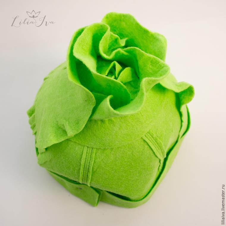 Шьем шапочку-капусту для детского капустника, фото № 11