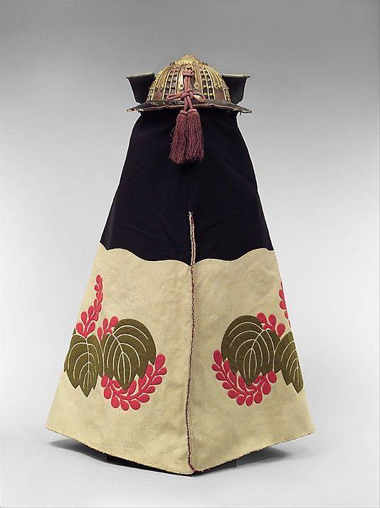 Fireman's Helmet (Kajikabuto) for a Daimyo  Date: 18th century Culture: Japanese Medium: Gilt copper, leather, felt, silk, and lacquer