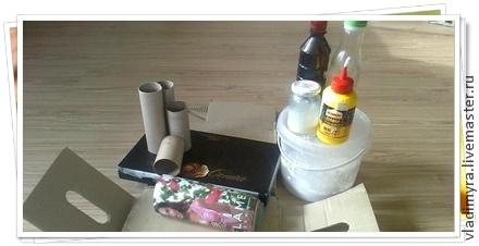 декорирование, пластик, коричневый