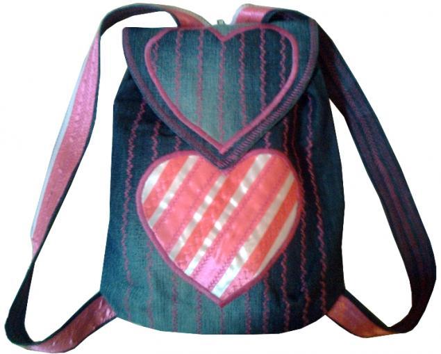 Рюкзак для девочки своими руками