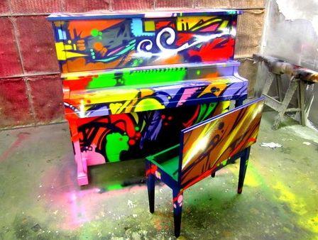 водопад из пианино