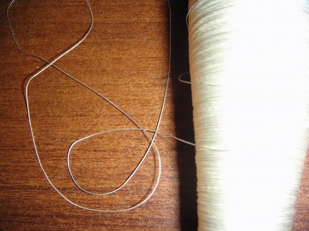 нитки, стекляные нитки