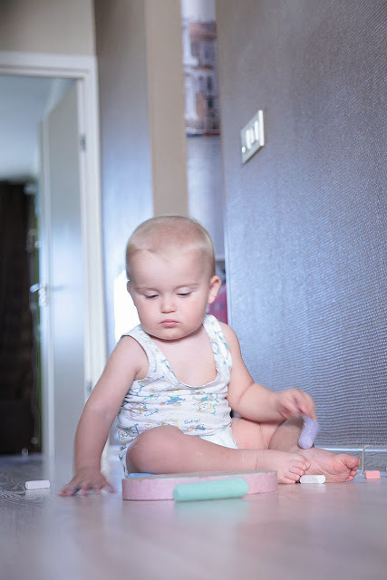 Как рисовать с малышом полутора лет, фото № 1
