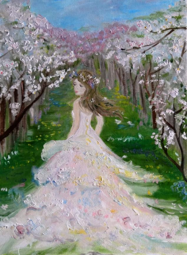Весна идет в картинах художников