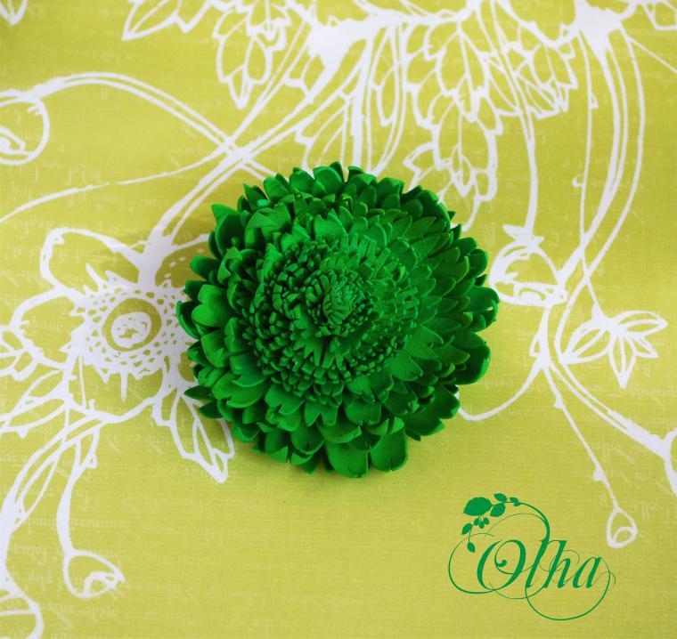Поделки зелёного цвета 3