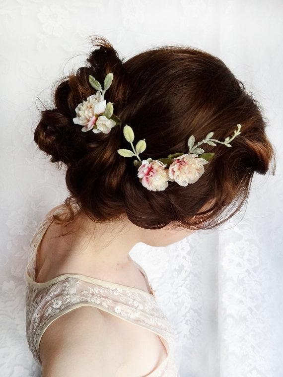 Цветы в голову невесты своими руками