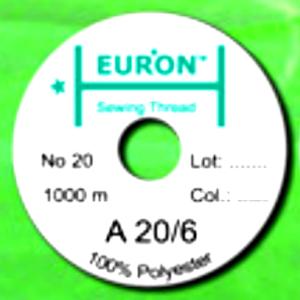 карта цветов ниток, нитки euron