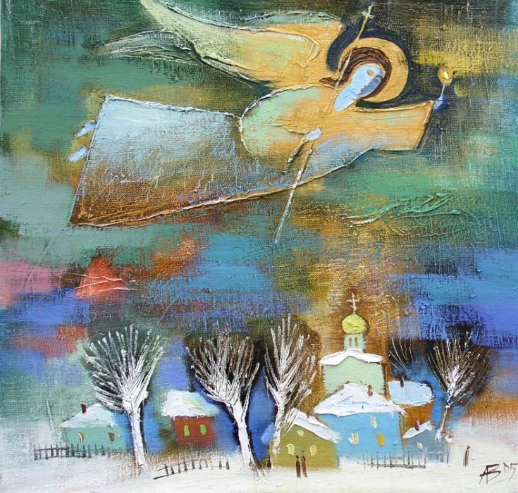 Те, кто всегда рядом... Ангелы в живописи современников, фото № 26