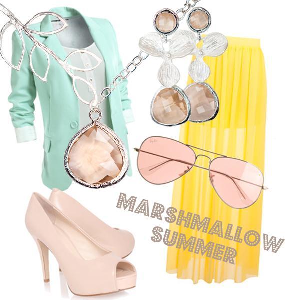 lookoftheday, look, outfit, образ, стиль, пастель, нежность, лето, украшения, украшения с цветами, летние украшения, распродажа, распродажа украшений, распродажа бижутерии, коллаж, мода, модные тенденции, тренд
