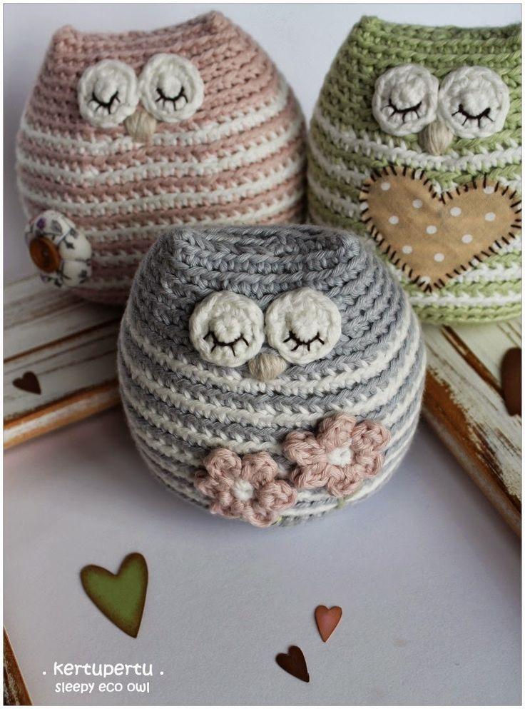 kertupertu maailm: ko-ku. Little sleepy eco owl