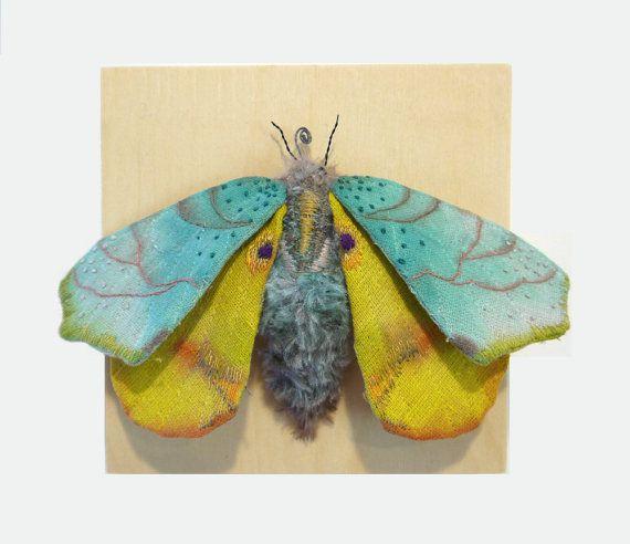 Дивные текстильные насекомые от мастера Yumi Okita, фото № 1