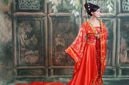 Платье невесты в китае