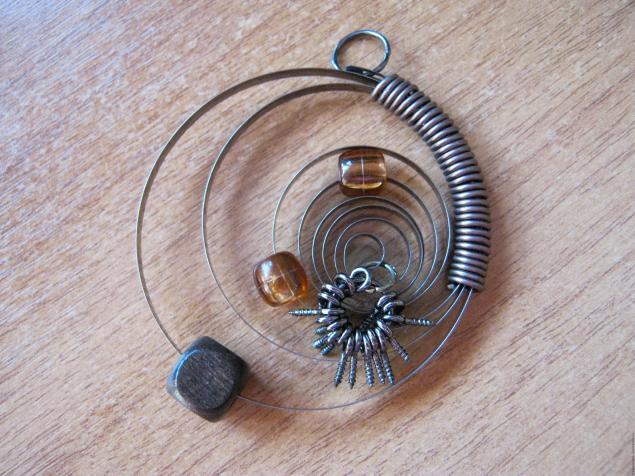 Кулоны из подручных материалов