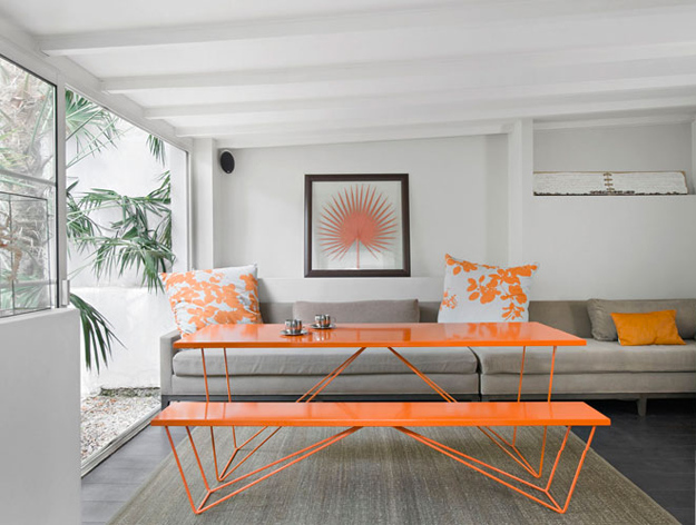 оранжевый и голубой, оранжевый декор, оранжевое чудо, olgavolkovaart, про оранжевый цвет