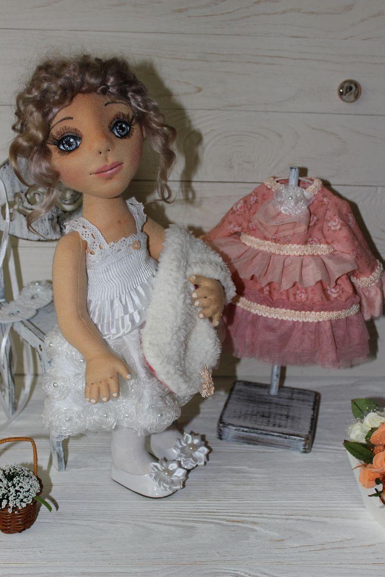 кукла ручной работы, кукла в подарок, украшение интерьера