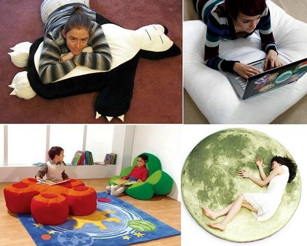Напольные подушки выкройки фото
