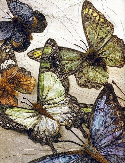 Текстильные шедевры, или Бабочки как источник вдохновения, фото № 5