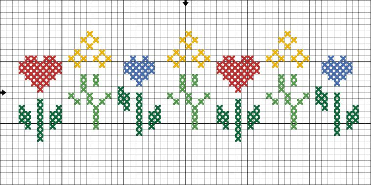 схема вышивки крестом, подарок
