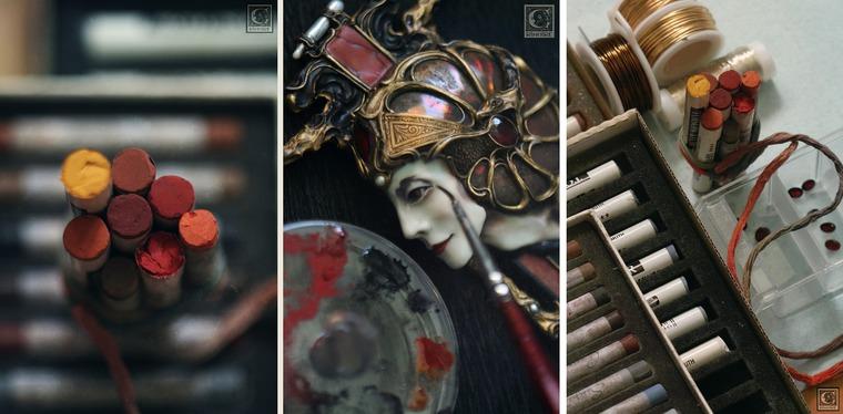 греция, art nouveau, процесс работы