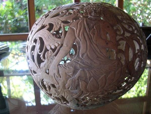Поделка из кокоса своими руками 52