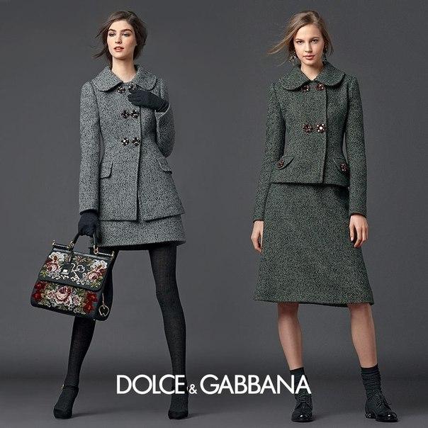 осень -зима 2014, dolce gabbana, тренды