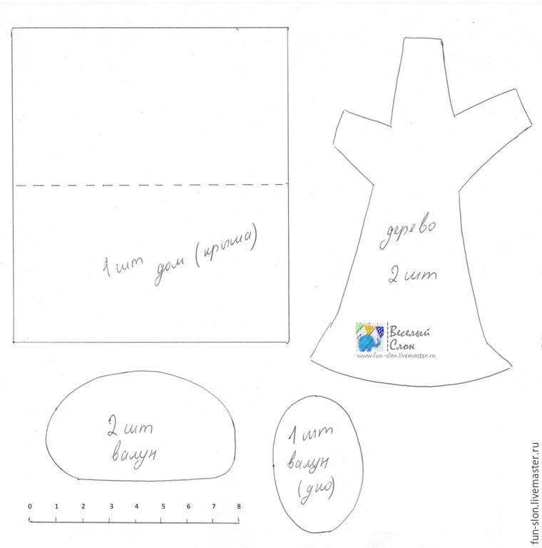 Шьем яркий и реалистичный игровой коврик из фетра, фото № 5