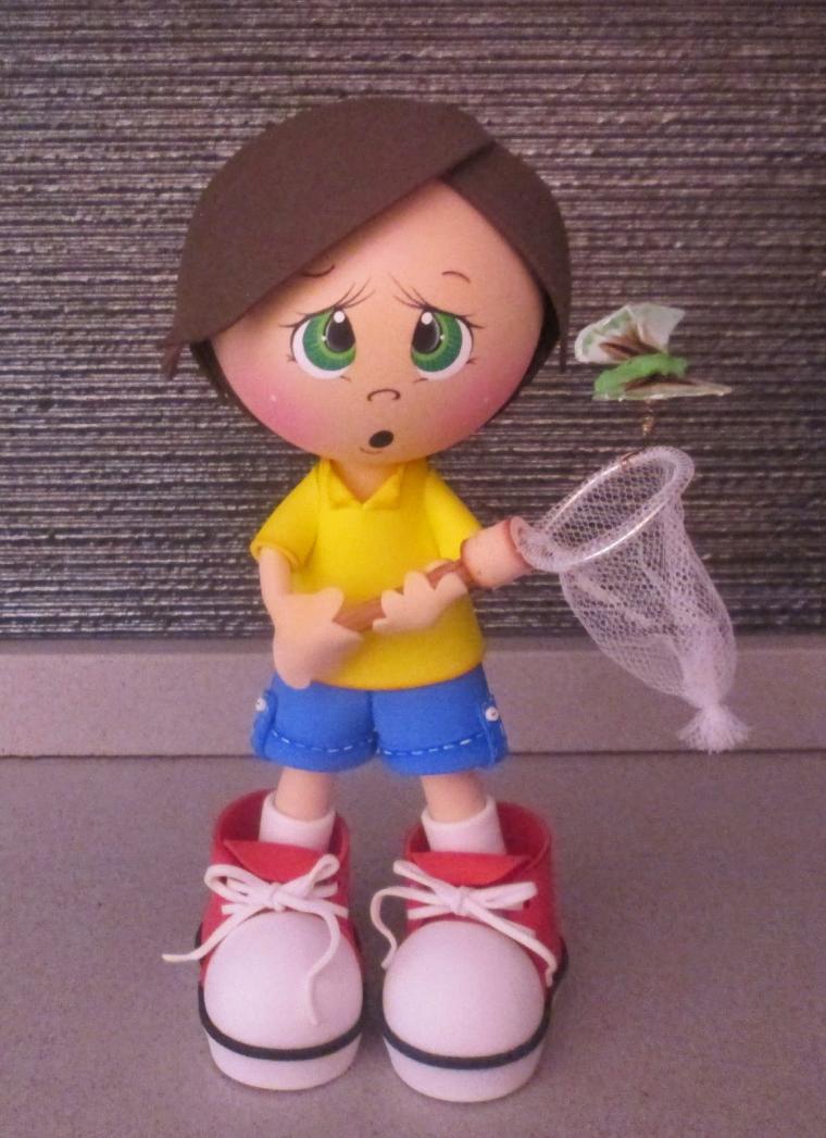 Кукол из фоамирана своими руками 377