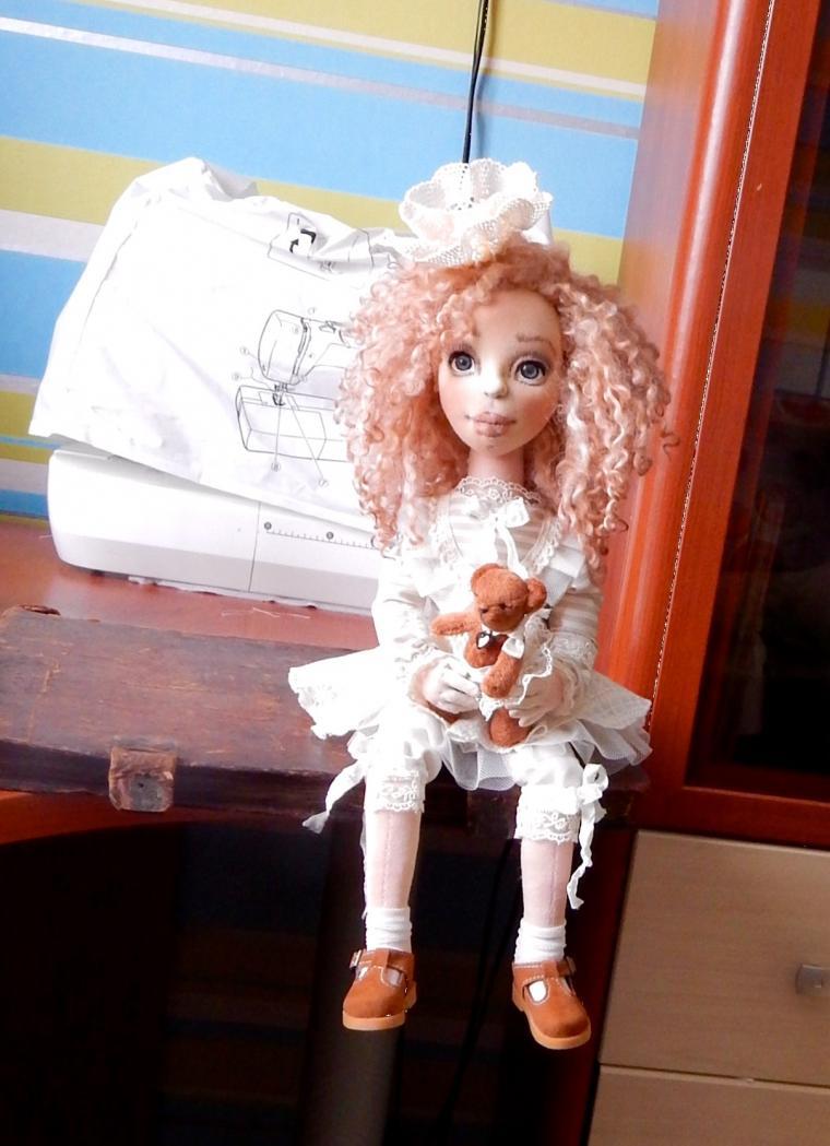 текстильная куколка, создание, авторская ручная работа