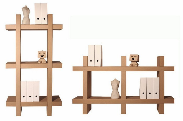 Стеллаж для игрушек своими руками из картонных коробок