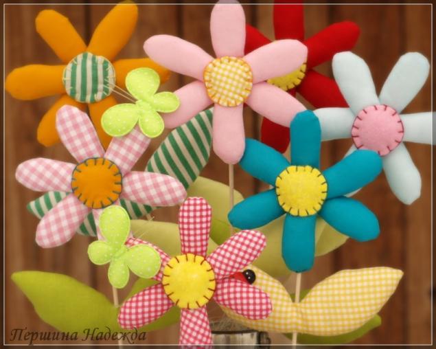 Цветок игрушка сделать своими руками