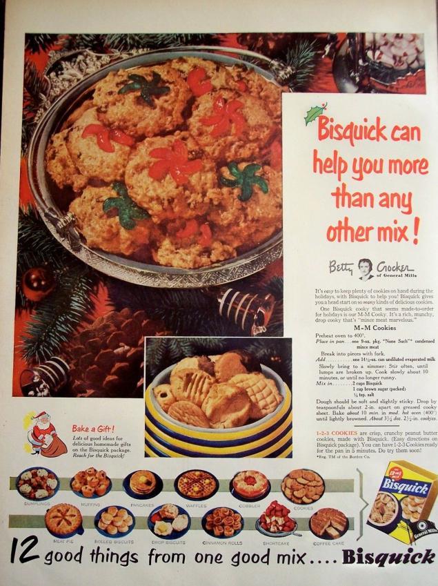 Новогодняя реклама Vintage/1951 -1956 включительно, фото № 10