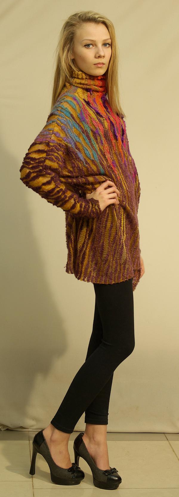 елена кондрина, свитер