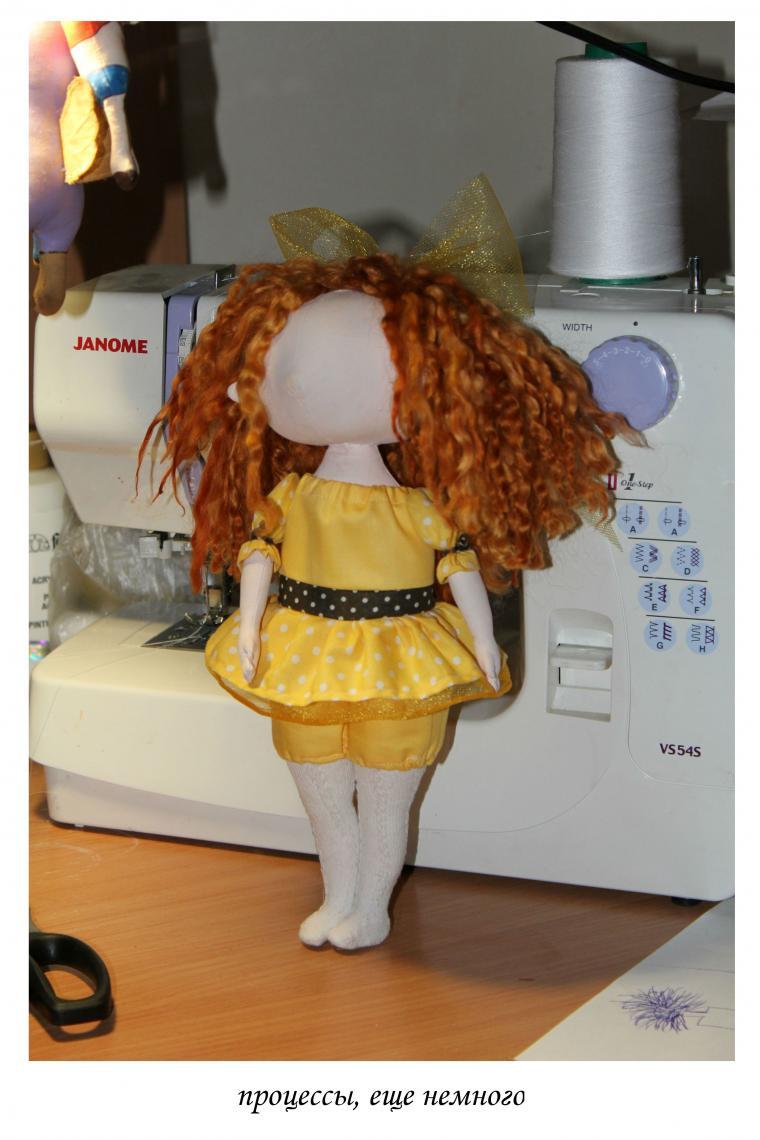 коллекционная кукла, игрушка ручной работы, рабочий процесс