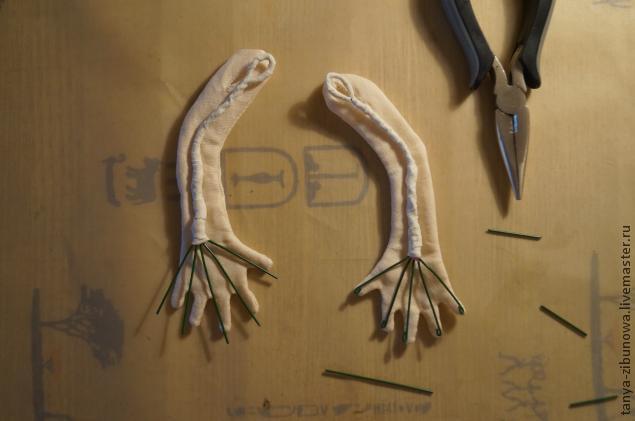 Создание текстильной куклы Лорочки. Часть 1, фото № 15