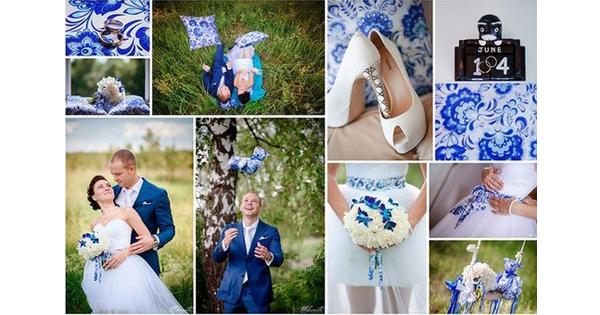 акция, специальное предложение, тематическая свадьба, русская свадьба, голубой цвет