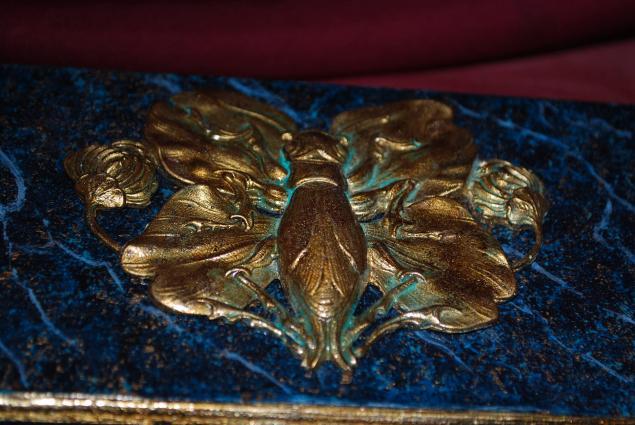 мк по росписи, имитация красками, жидкие бронзы, академия декора