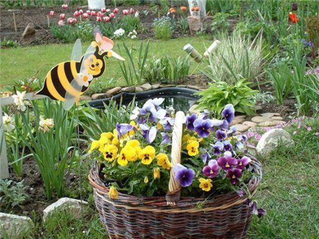 Хорошие идеи для сада и дачи своими руками фото