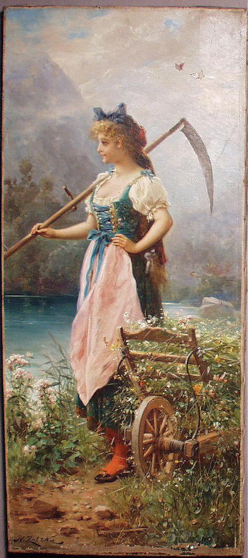 Шедевры живописи. Картины австрийского художника Ханса Зацка, фото № 9